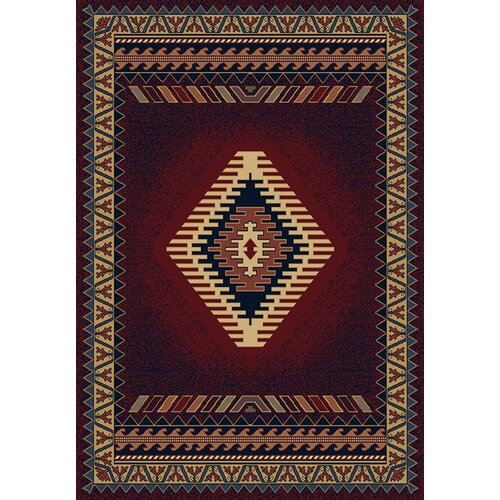 Manhattan Tucson Burgundy Rug
