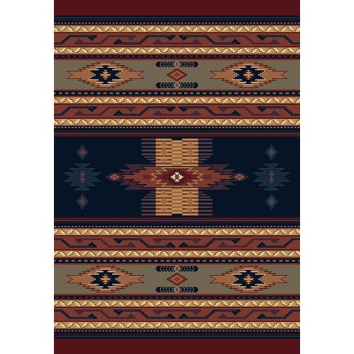 Manhattan Phoenix Navy/Tan Rug