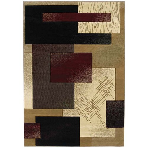 United Weavers of America Contours Mondavi Burgundy Rug