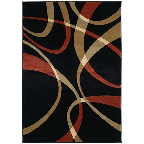 United Weavers of America Contours LaChic Terracotta Rug