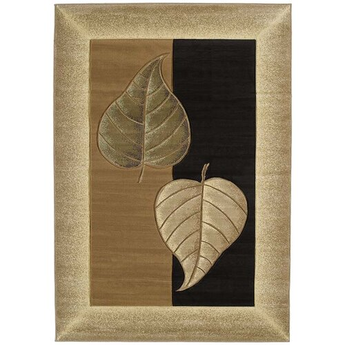 United Weavers of America Contours Basil Chocolate Rug