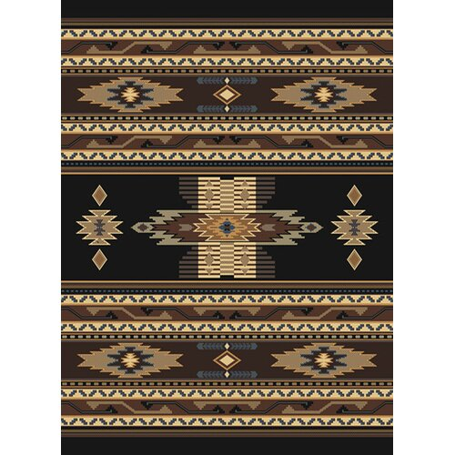 Manhattan Phoenix Black Rug