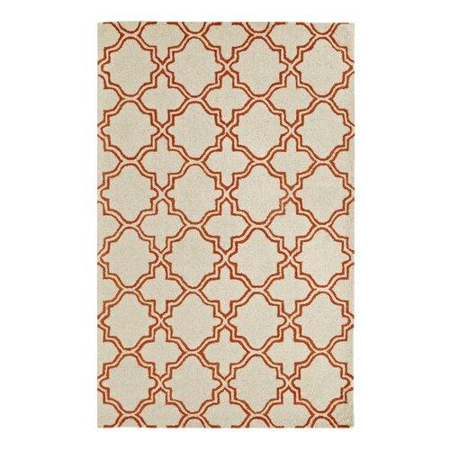 Palace Ivory/Orange Rug