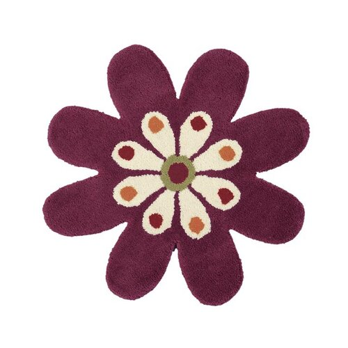 Dynamic Rugs Fantasia Flower Fuchsia Kids Rug