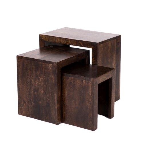 Value by Wayfair Mercia 3 Piece Nest of Tables