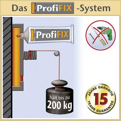 """Wenko Eckregal """"ProfiFIX"""" mit 2 Etagen"""