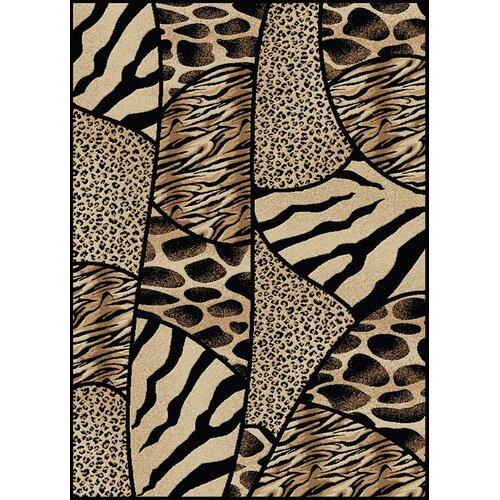 Animal Print Rug Wayfair: Radici Vesuvio Animal Print Novelty Area Rug & Reviews