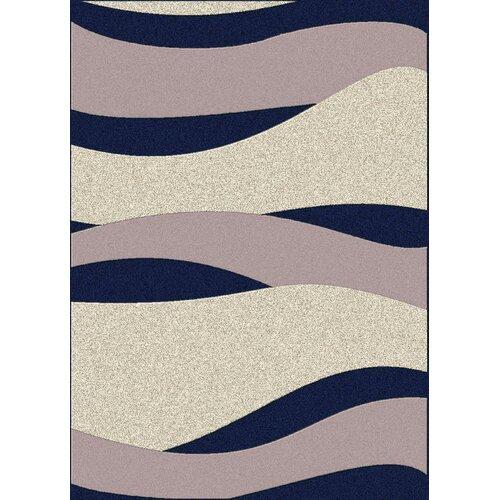 Radici USA Bella Navy/Pearl Wave Rug