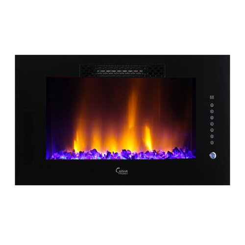luxury linear multicolor electric fireplace wayfair