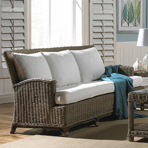 Panama Jack Sunroom Exuma Sofa With Cushion Reviews Wayfair