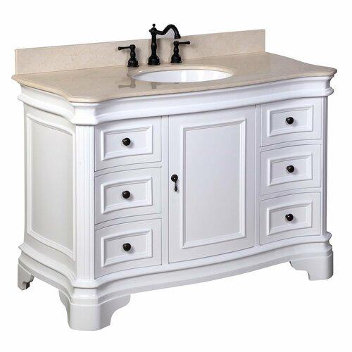 katherine 48 quot single bathroom vanity set wayfair supply