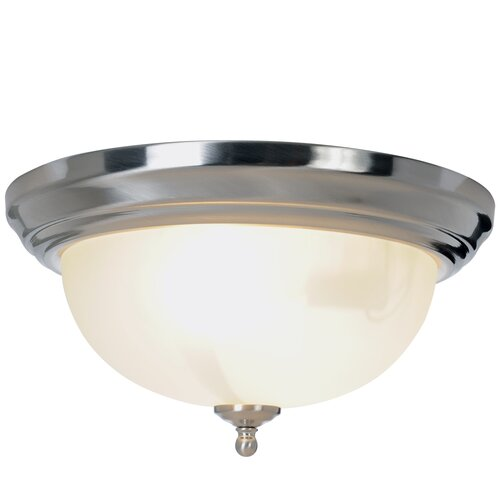 Monument Sonoma 1 Light Flush Mount