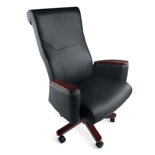 La-Z-Boy Accel High-Back Leather Executive Chair