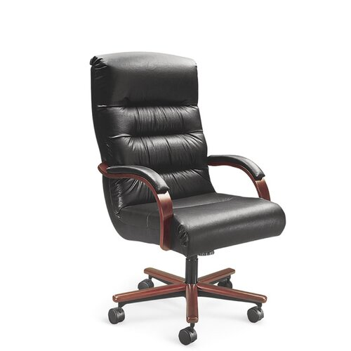 Horizon High Back Office Chair With Arms Wayfair Supply
