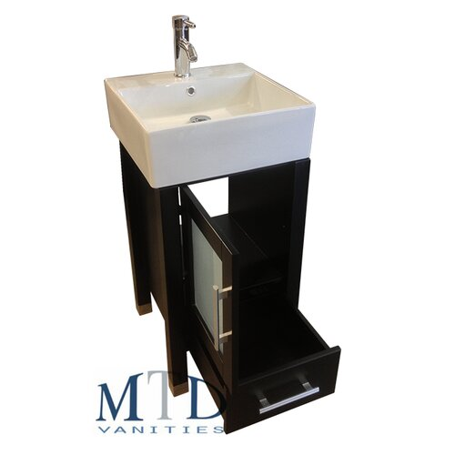 Malta 18 Single Sink Bathroom Vanity Set With Mirror