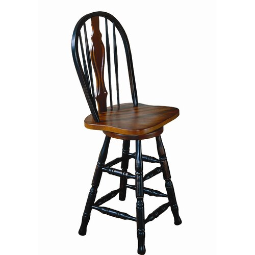 "Sunset Trading Sunset 24"" Swivel Bar Stool"
