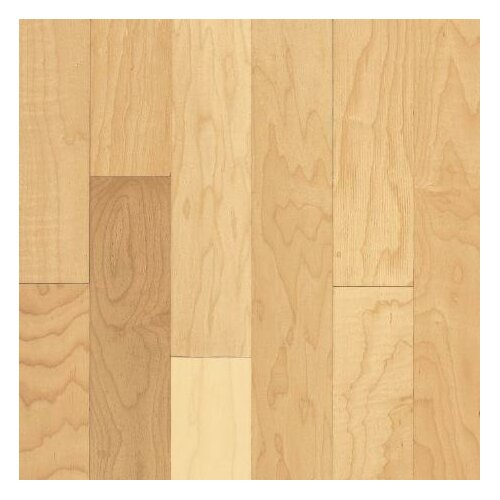 "Armstrong Sugar Creek Plank 3-1/4"" Solid Maple Flooring in Natural"
