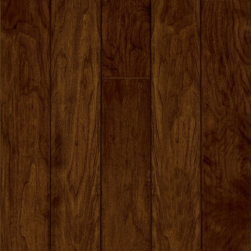 """Armstrong Century Farm 5"""" Hand-Sculpted Engineered Walnut Flooring in Morning Coffee"""