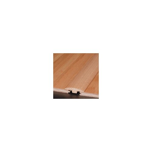 "Armstrong 0.25"" x 2"" Red Oak T-Molding in Gunstock"