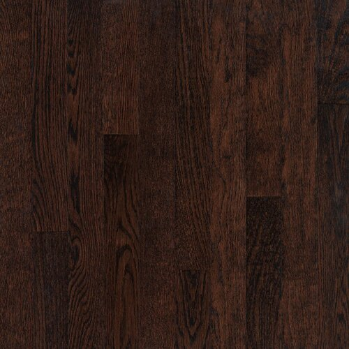 "Armstrong Somerset Plank 3-1/4"" Solid Oak Flooring in Large Kona"