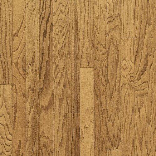 "Bruce Flooring Turlington Plank 5"" Engineered Red Oak Flooring in Harvest"