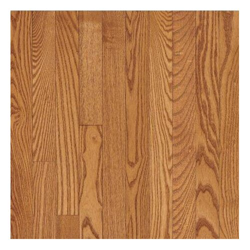 """Bruce Flooring Dundee Wide Plank 5"""" Solid Red Oak Flooring in Butterscotch"""