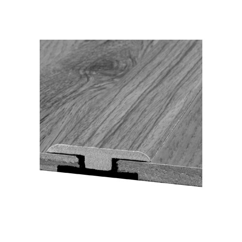 Bruce Flooring Laminate T-Moulding Bevel Trim with Track in Kambala, Jatoba Rustic Natural