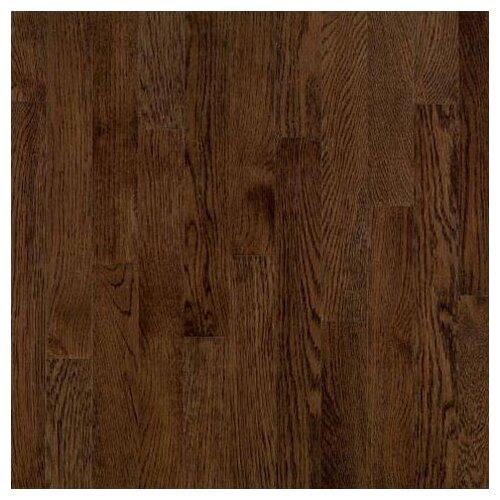 "Bruce Flooring Dundee Wide Plank 5"" Solid Red Oak Flooring in Mocha"