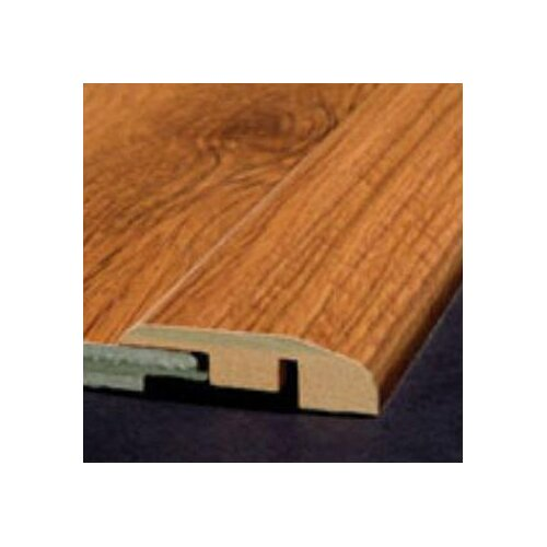 Bruce Flooring Laminate Reducer Strip with Track in Honey Wheat