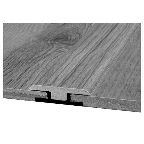 Bruce Flooring Laminate T-Moulding with Track in Noguera Walnut