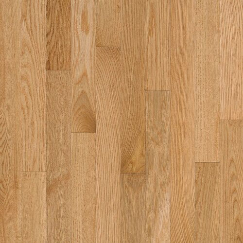 "Bruce Flooring Natural Choice Strip Low Gloss 2-1/4"" Solid Red Oak Flooring in Natural"