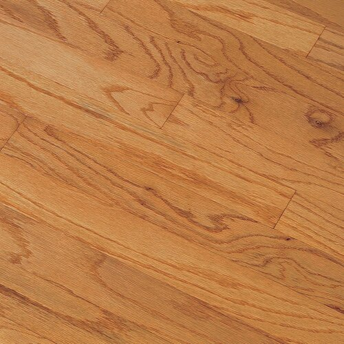 "Bruce Flooring Northshore Plank 3"" Engineered Red Oak Flooring in Butterscotch"