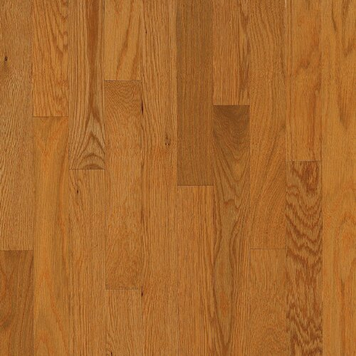 "Bruce Flooring Dundee Plank 3-1/4"" Solid White Oak Flooring in Butter Rum"