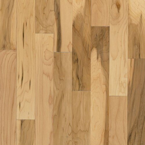 "Bruce Flooring Kennedale Strip 2-1/4"" Solid Maple Flooring in Country Natural"