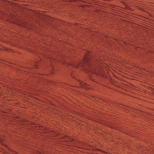 "Bruce Flooring Fulton Plank 3-1/4"" Solid Red / White Oak Flooring in Cherry"
