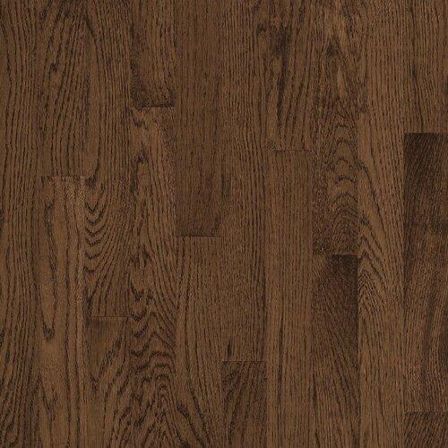 "Bruce Flooring Natural Choice Strip 2-1/4"" Solid Red / White Oak Flooring in Walnut"