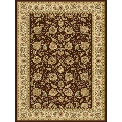 Central Oriental Radiance Arcadia Brown Rug