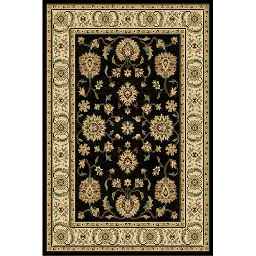 Central Oriental Paige Black/Wheat Thayer Rug