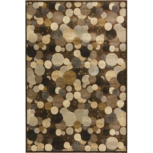 Central Oriental Providence Cocoa Wishing Well Rug