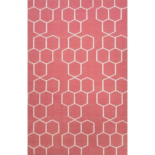 Jaipur Rugs Maroc Red/Ivory Geometric Rug