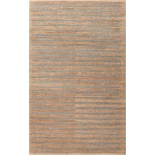 Himalaya Blue/Tan Solid Rug