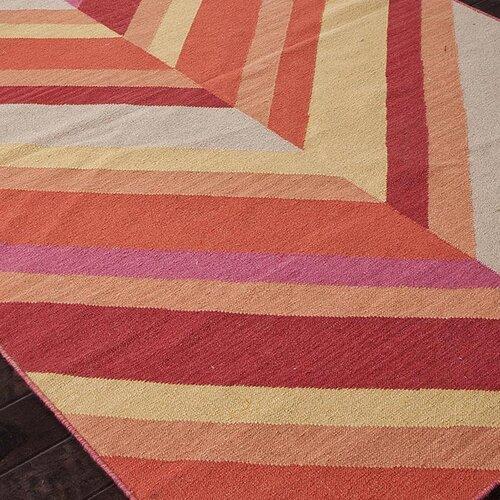 Jaipur Rugs Maroc Red/Orange Stripe Rug