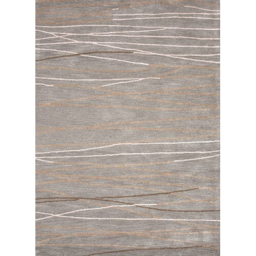 Baroque Gray Geometric Rug