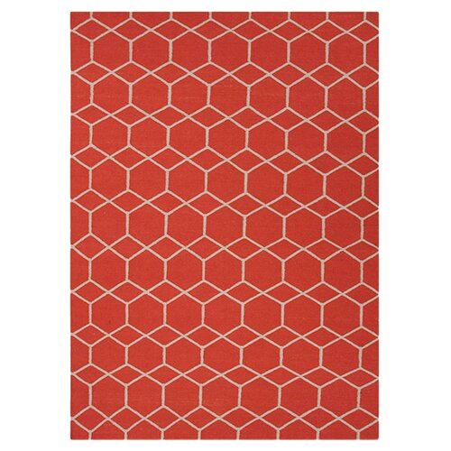 Jaipur Rugs Maroc Red/Orange Geometric Rug
