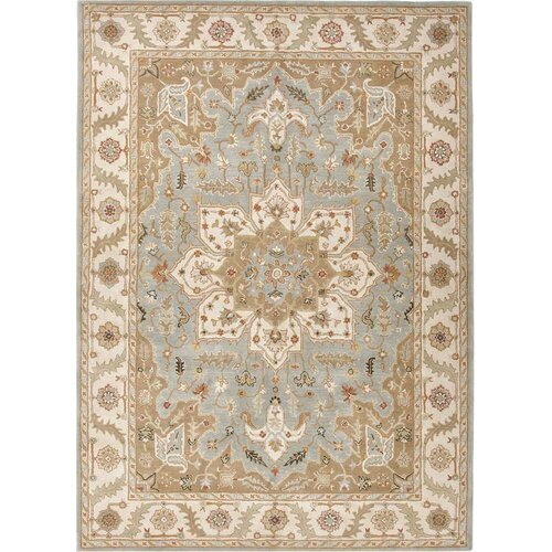 Poeme Blue Surf/Cloud White Rug