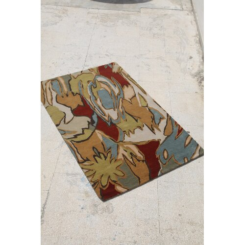 Jaipur Rugs Blue Dark Amber Gold Rug