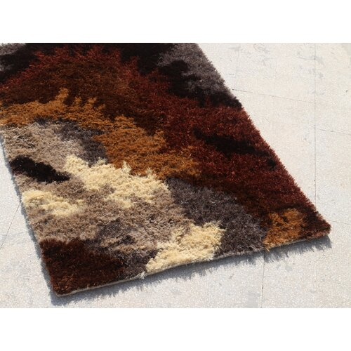 Jaipur Rugs Utopia Leather Brown/Red Clay Rug