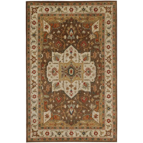 Poeme Indian Brown/Cloud White Rug