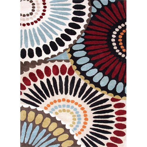 Jaipur Rugs Blue Ebony/Antique White Abstract Rug