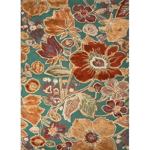 Jaipur Rugs Blue Deep Sea Floral Rug
